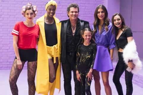 Melina Ramírez, Claudia Lozano, Carlos y Elena Vives, 'la Toya Montoya' y Lucy Vives