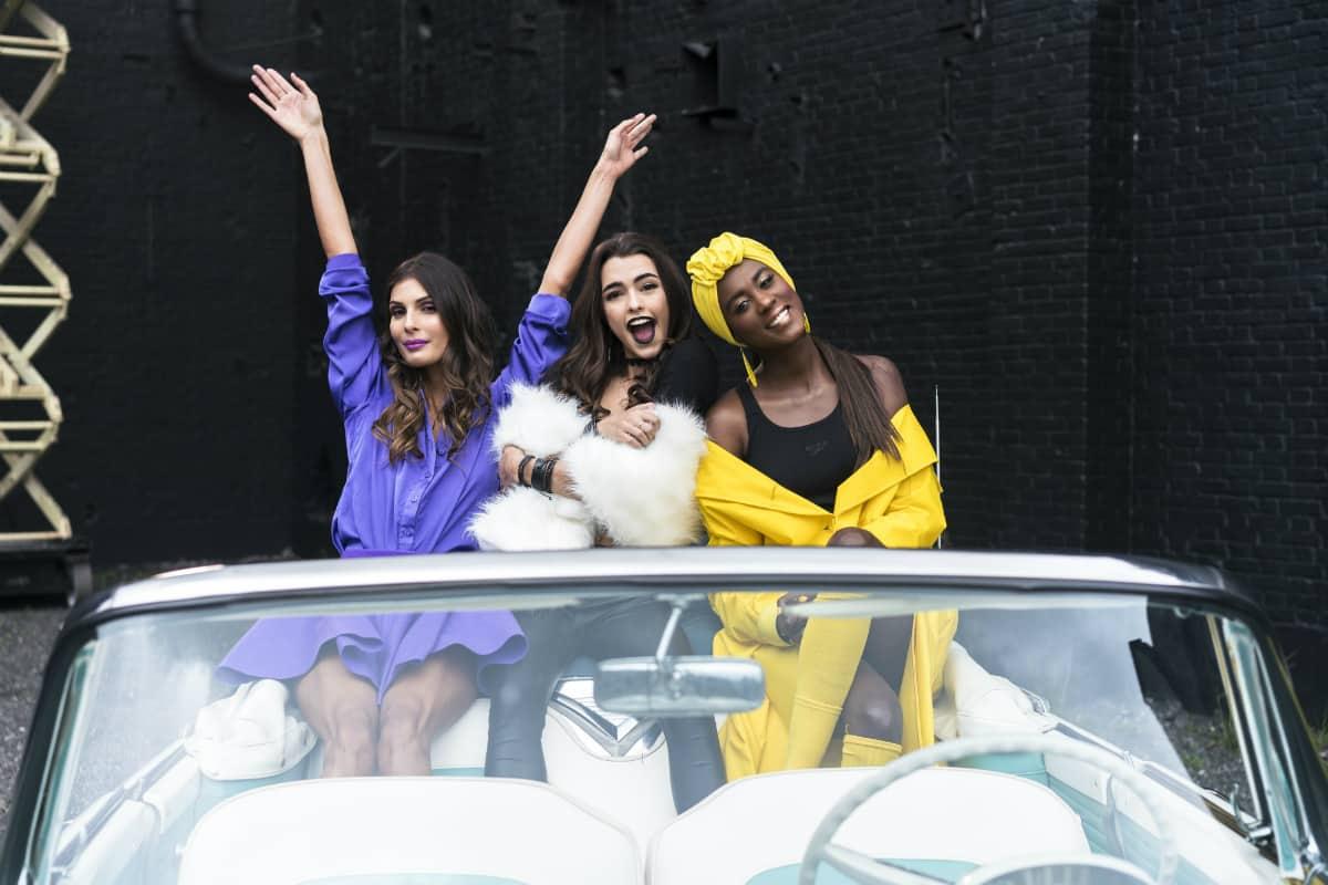 'La Toya Montoya', Lucy Vives y Claudia Lozano