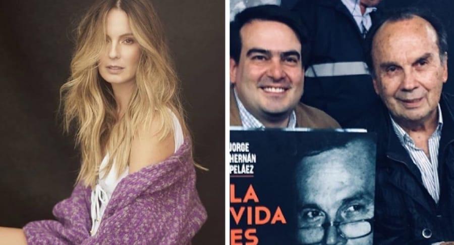 Claudia Bahamón y Jorge Hernán Peláez
