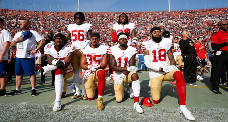 Arrodillados NFL