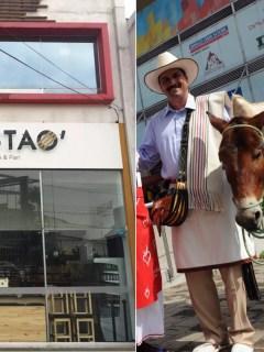 Tostao y Juan Valdez