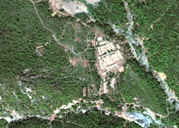 Centro de pruebas nucleares Punggye-Ri