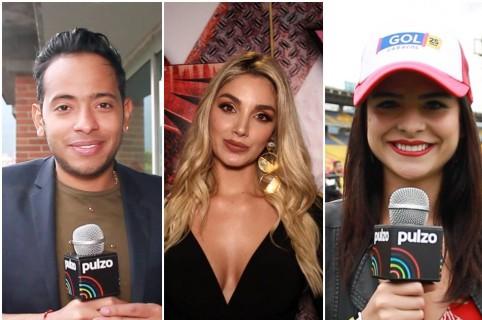 Orlando Liñán, Melina Ramírez, Stephania Duque, Luca Buelvas