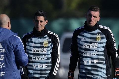 Armani con Selección Argentina