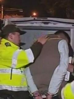 Captura de uno de los presuntos asaltantes