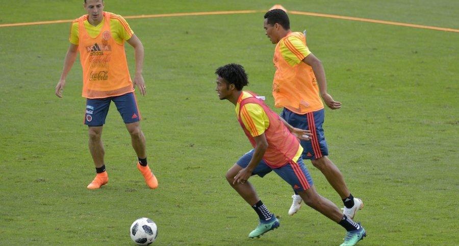 Entrenamiento de la Selección Colombia
