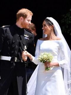 Príncipe Harry y su esposa Meghan Markle.