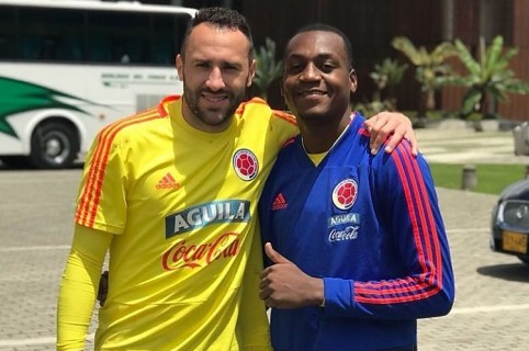 David Ospina e Iván Arboleda