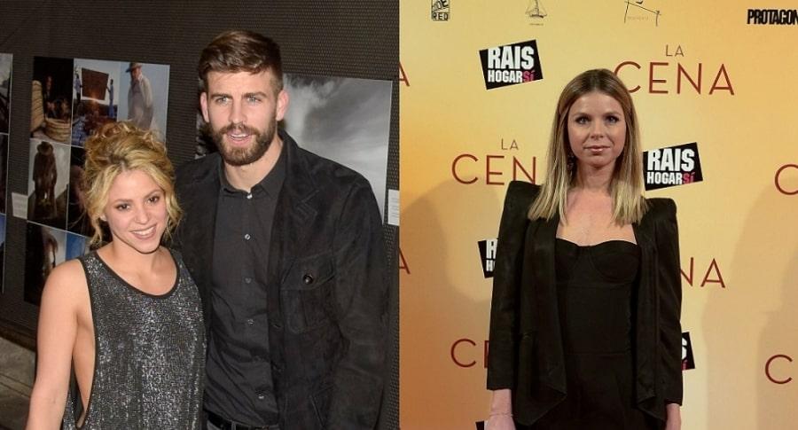 Shakira, Gerard Piqué y núria