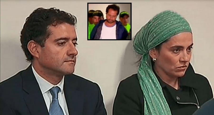 Francisco, Rafael y Catalina Uribe Noguera.