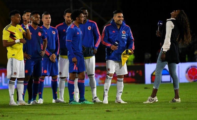 Selección Colombia y Caterine ibargüen