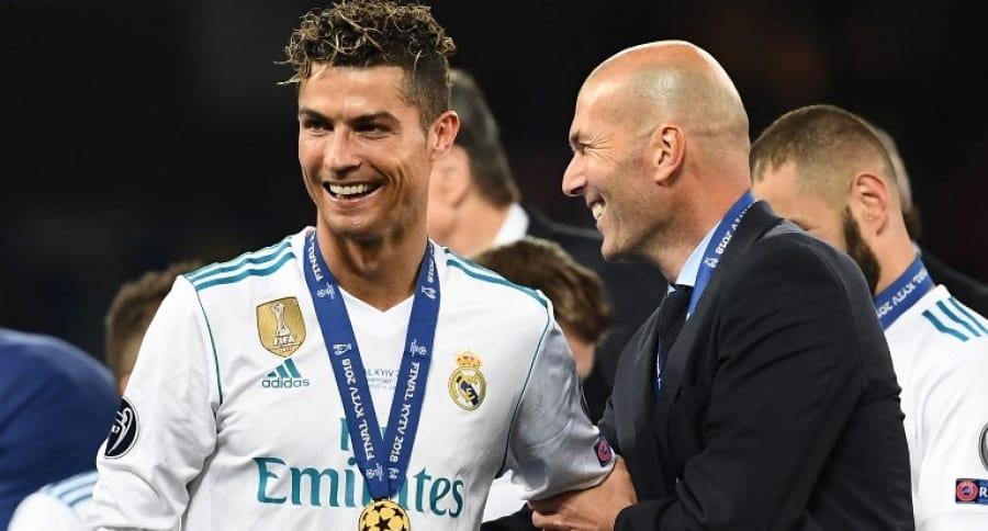 Cristiano Ronaldo y Zinedine Zidane