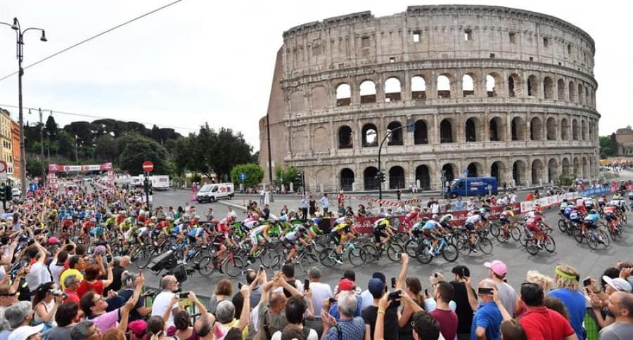 Giro de Italia en Roma