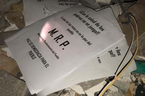 Panfletos del MRP