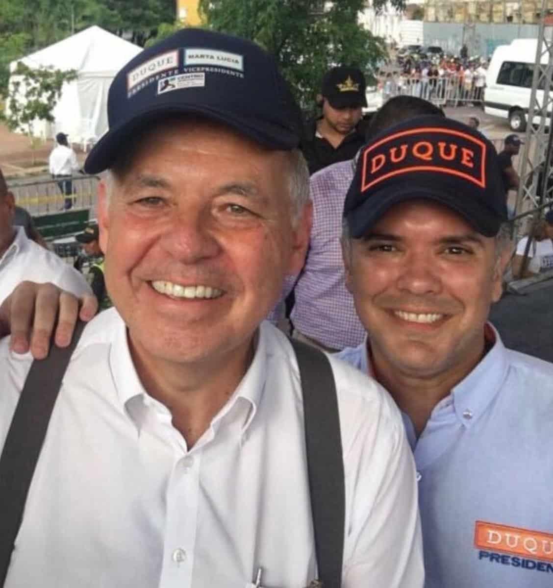 Alejandro Ordóñez e Iván Duque
