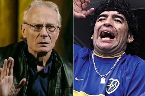 Fernando Signorini y Diego Maradona