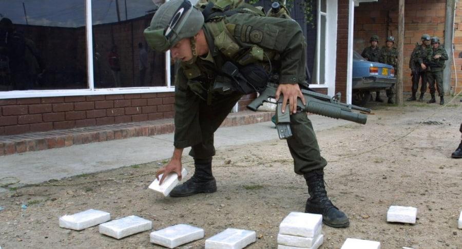 Incautación de drogas