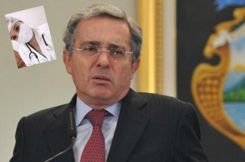 Amenaza a Álvaro Uribe