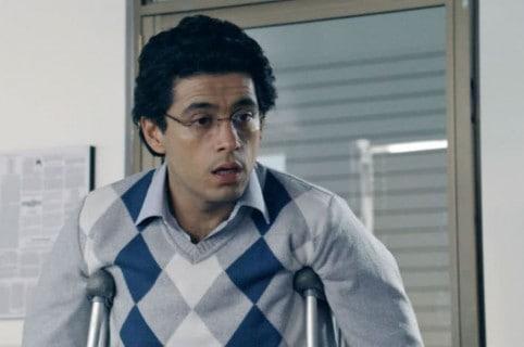 El actor Santiago Alarcón, interpretado al fallecido periodista Jaime Garzón.