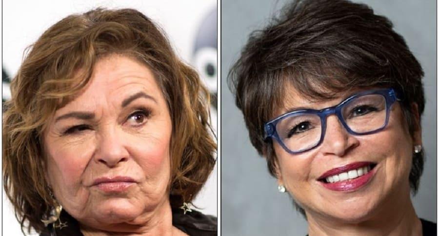 Roseanne Barr y Valerie Jarrett