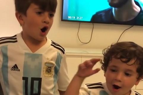 Hijos de Lionel Messi