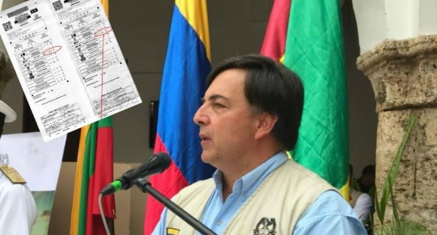 Registrador Juan Carlos Galindo
