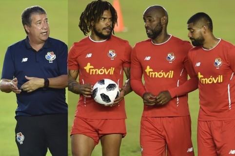 Hernán Darío Gómez, Román Torres, Felipe Baloy y Gabriel Gómez