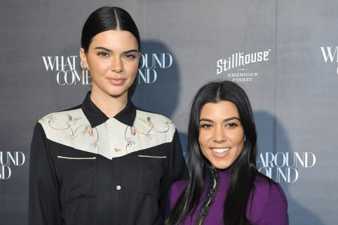 Kendall Jenner and Kourtney Kardashian