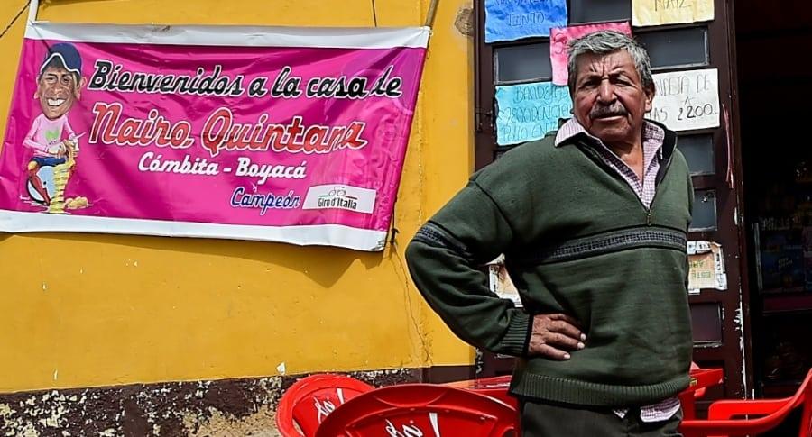 Luis Quintana, papá de Nairo