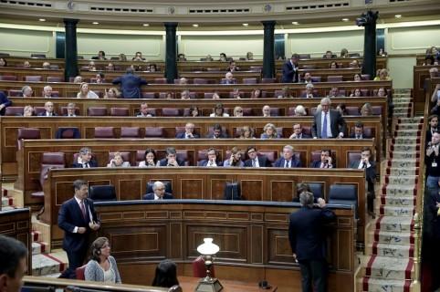 Moción de censura Congreso de los diputados