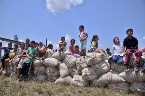 Niños en el municipio de Cumaribo, Vichada