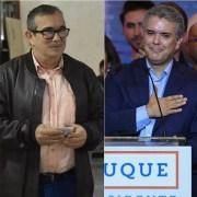 Iván Duque y Rodrigo Londoño