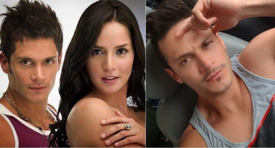 Juan Diego Sánchez y Carmen Villalobos, actores.