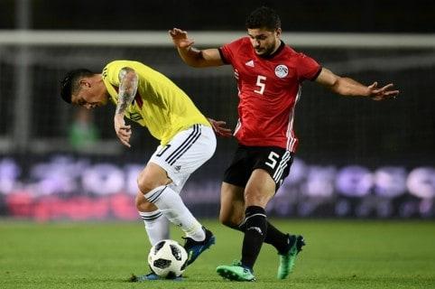 Colombia Egipto