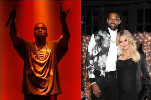 Kanye West / Tristan Thompson y Khloé Kardashian