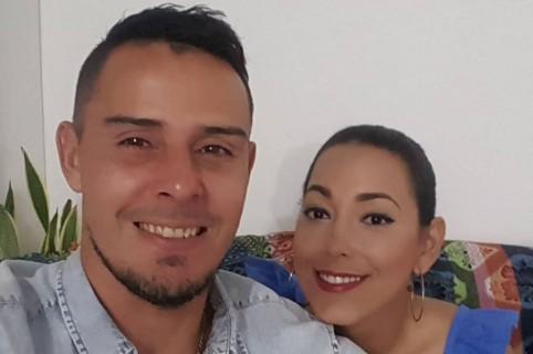Luis Delgado y Tatiana García
