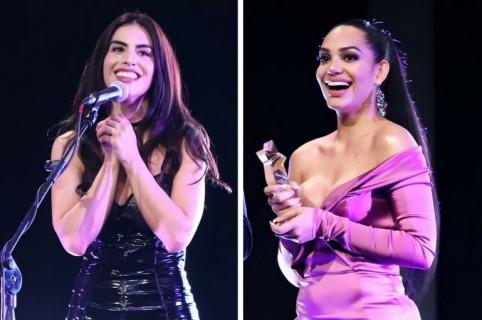 Jessica Cediel y Andrea Valdiri