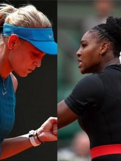 María Sharapova y Serena Williams