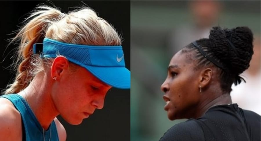 María Sharapova y Serena Williams