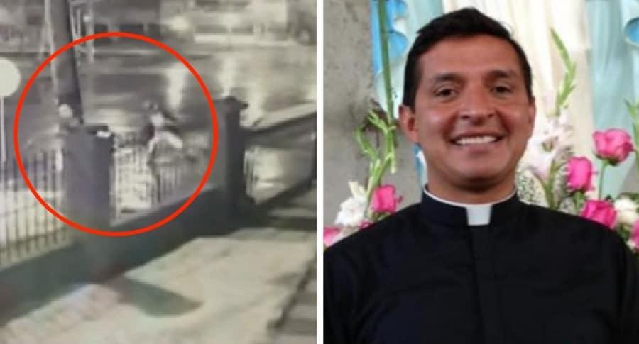 Ataque a iglesia padre Chucho