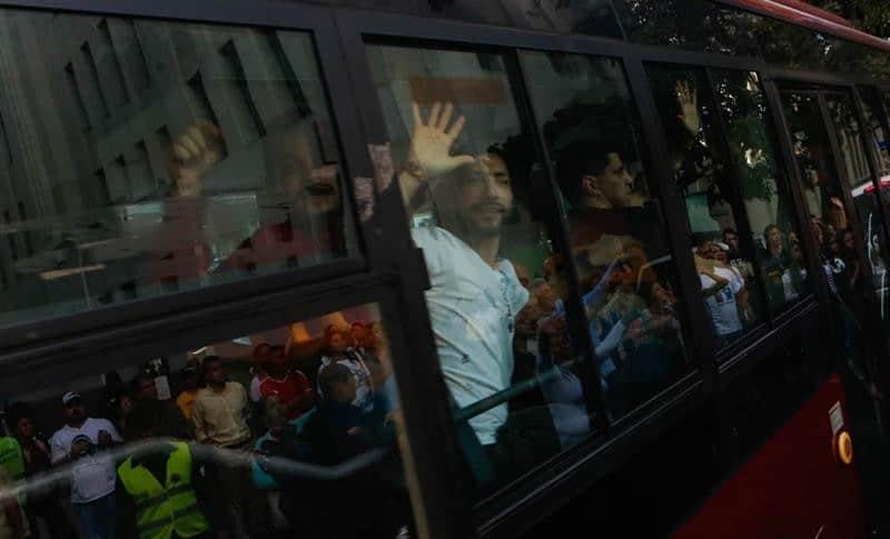 Presos políticos liberados este sábado en Venezuela