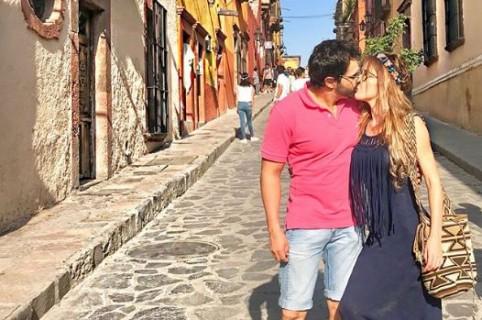 Nataly Umaña y Alejandro Estrada