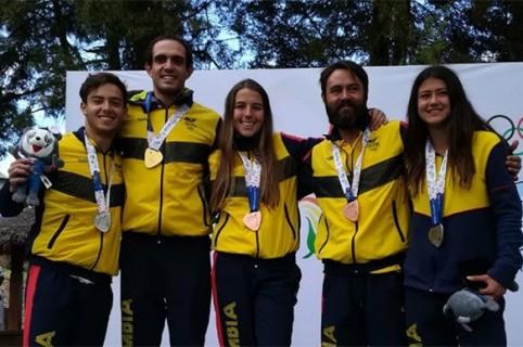 Seis medallas alcanzó el esquí colombiano