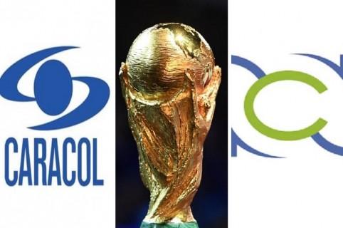 Caracol, Mundial y RCN