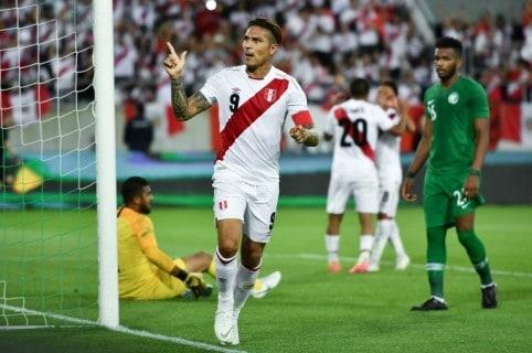 Paolo Guerrero celebrando