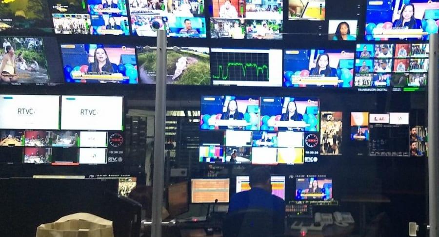 Televisión pública colombiana