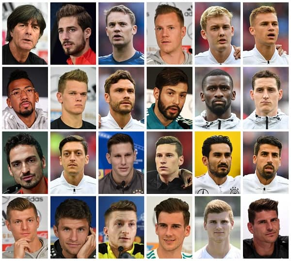 Alemania - Rusia 2018