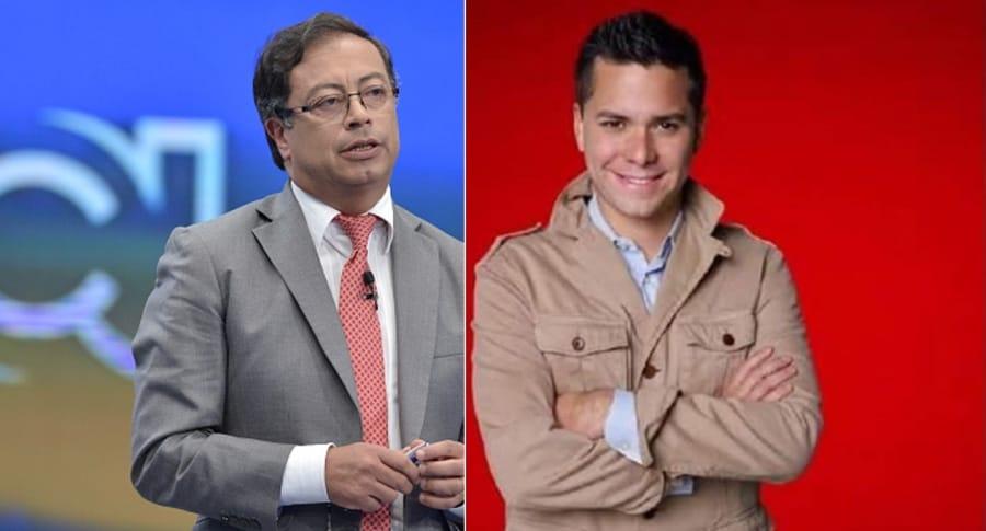 Petro y Luis Carlos Vélez