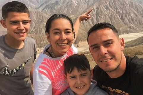 Familia de Luis Delgado