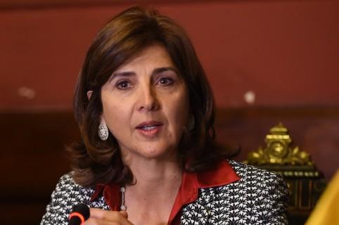 María Ángela Holguín, canciller colombiana